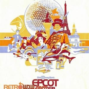 Epcot Center Shopping Bag