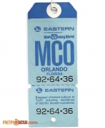 Eastern Airlines WDW Official Airline Luggage Tag MCO