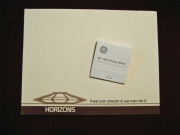 Horizons Notepad and Matchbook