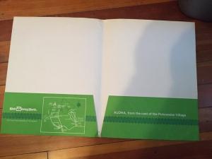 Polynesian Folder Inside