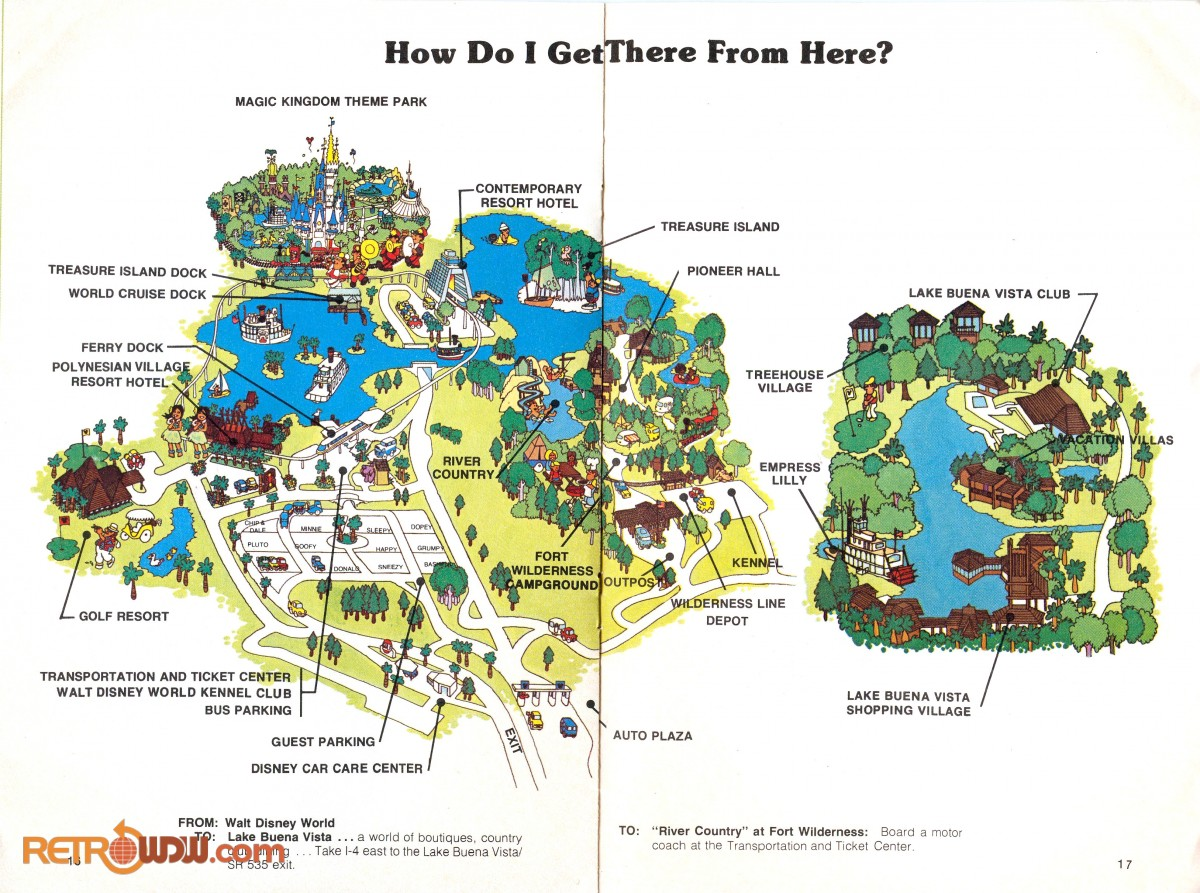 Walt Disney World Guidebooks & Pamphlets - RetroWDW