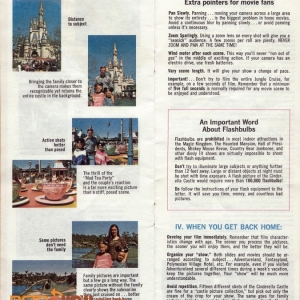1974 Photo Tips Pamphlet