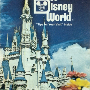 1977 WDW Guide - Cover