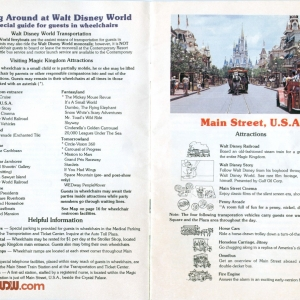 1977 WDW Guide - Acessibility