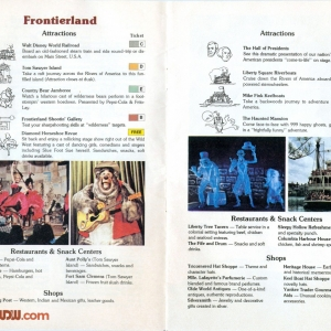 1977 WDW Guide - Frontierland