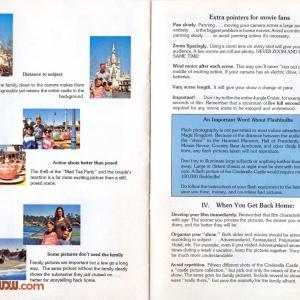 1977 WDW Guide - GAF Photo Tips
