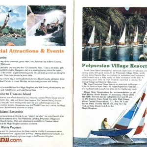 1977 WDW Guide - Recreation/Polynesian