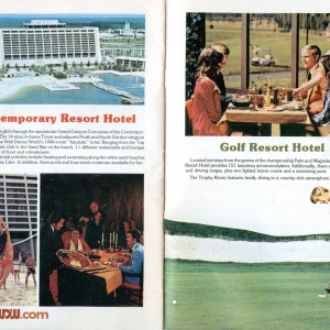 1977 WDW Guide - Contemporary/Golf Resort