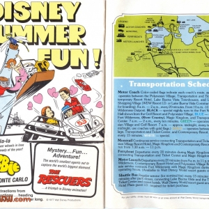 1977 WDW Guide - Summer Fun