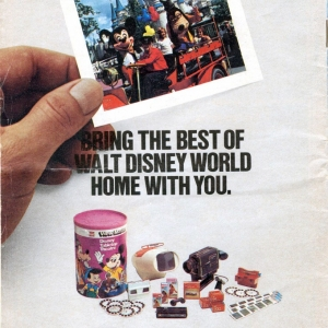 1977 WDW Guide - Back Cover