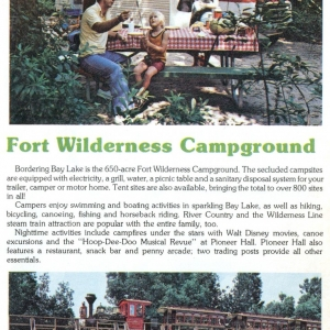1977 Stay and Play - Fort Wilderness