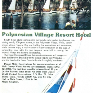 1977 Stay and Play - Polynesian Resort