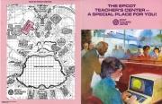 EPCOT Center Teacher's Center Pamphlet (Cover)