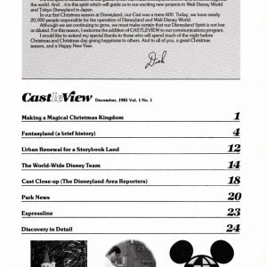1981 Castleview Magazine - Index