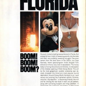 Look Magazine - WDW Preview 1971 - Page 1