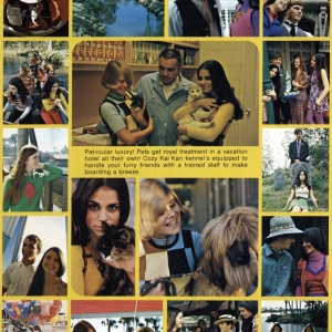 """Page from """"Young 'n Loving Teen"""" Magazine April 1972"""