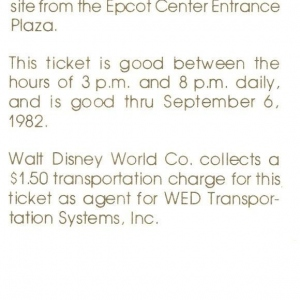 EPCOT Monorail Preview (back)
