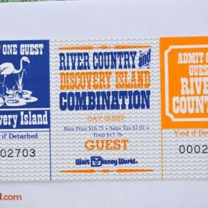1993 DI & RC Combo Ticket