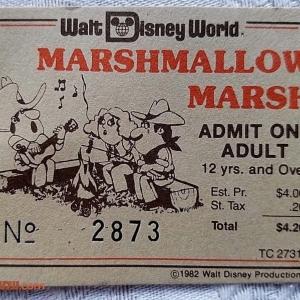 Marshmallow Roast Ticket