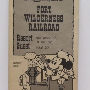Fort Wilderness Railroad Resort Guest Ticket