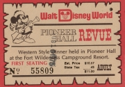 Pioneer Hall Review Adult Ticket