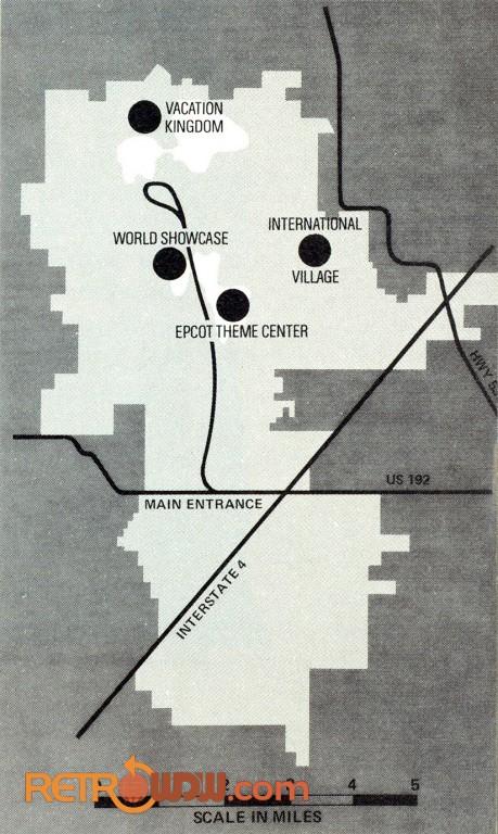 Walt Disney World Maps - RetroWDW