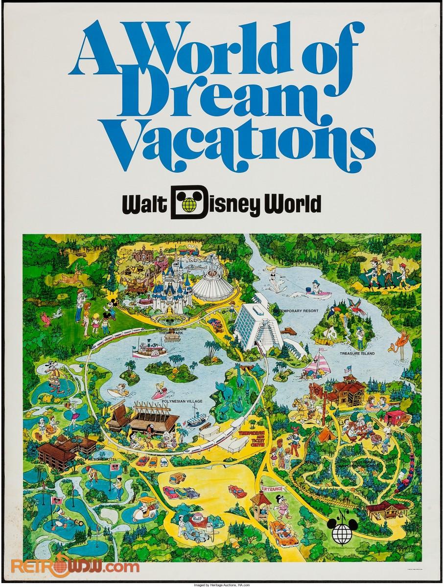 Walt Disney World Poster