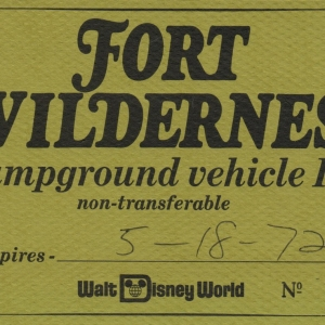 Fort Wilderness Campground Vehicle ID