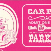 1970s Car Parking Voucher