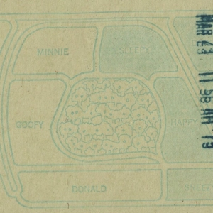 March 1975 Parking Pass - Reverse
