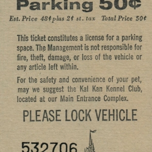 March 1977 Parking Pass