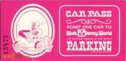 1970s Car Parking Voucher