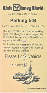 April 1981 Parking Pass