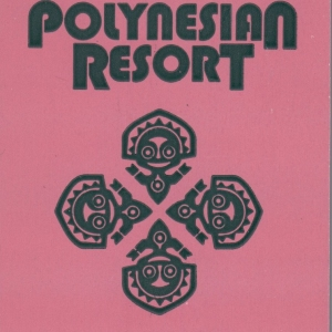 1991 Polynesian Resort ID - Back