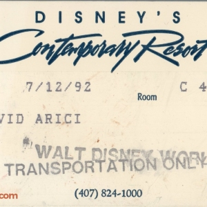1992 Contemporary Resort ID