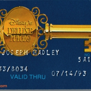 1993 Contemporary Resort Gold Key ID