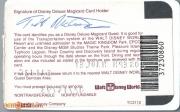 1993 Contemporary Resort Gold Key ID - Reverse