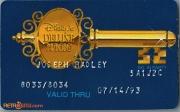 1993 Contemporary Resort Gold Key ID