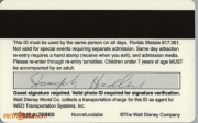 1994 Polynesian Resort ID - Back