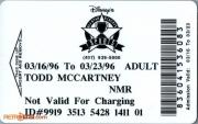 1996 All Star Sports Resort ID