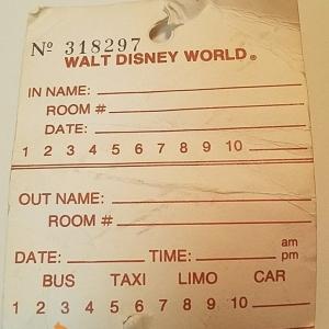 1986 Luggage Tag (Reverse)