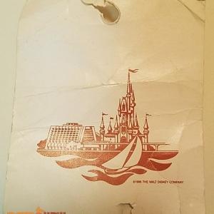 1986 Luggage Tag