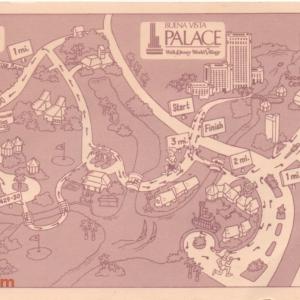 Buena Vista Palace Running Map