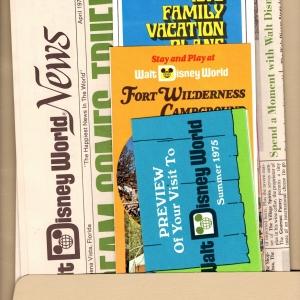 Fort Wilderness Folder - Inside