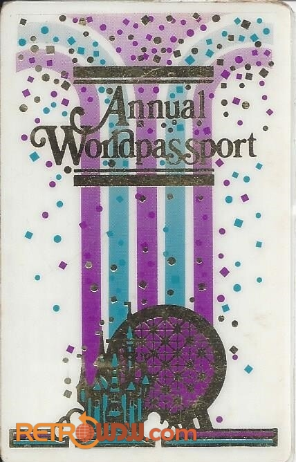1987 Annual Pass (Front)