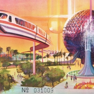 1981 3Day EPCOT Commemorative Ticket - Adult