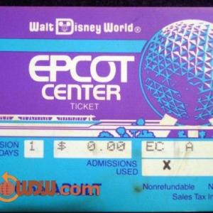 EPCOT Ticket '82