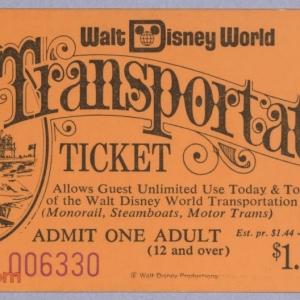 Transportation Ticket