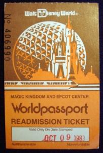 Worldpassport Ticket '83