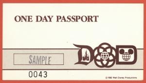 One Day Passport 1982